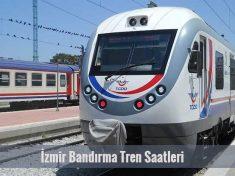 İzmir Bandırma Tren Saatleri